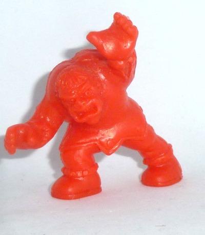 Monster in my Pocket - Hunchback - Figur rot - Serie 1 - 1990 Matchbox