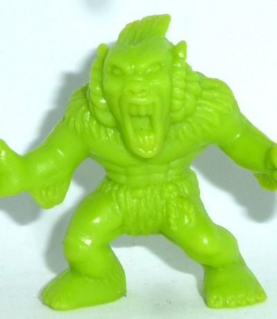 Monster in my Pocket - Windigo - Figur grün - Serie 1 - 1990 Matchbox