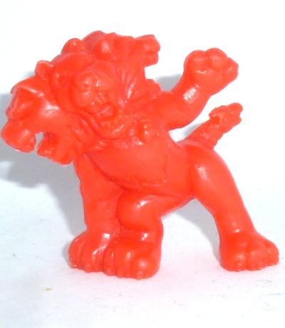 Monster in my Pocket - Cerberus - Figur rot - Serie 1 - 1990 Matchbox