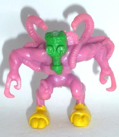Monster in my Pocket - Mad Gasser of Mattoon - Figur violet - Serie 4 - Super Scary - 1992 Matchbox