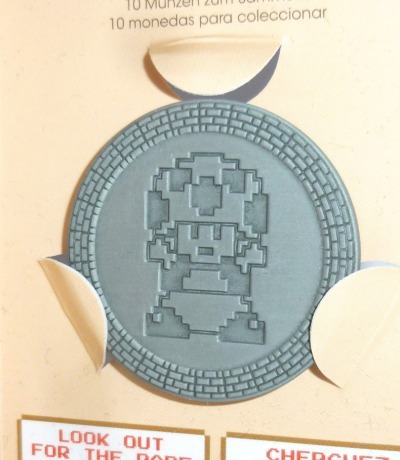 Super Mario Bros - Münze / Coin zum Sammeln - Nintendo 2018