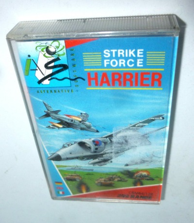 C64 STRIKE FORCE HARRIER Kassette Datasette