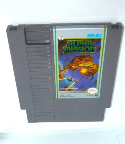 Nintendo NES Alpha Mission Pal-B Nintendo