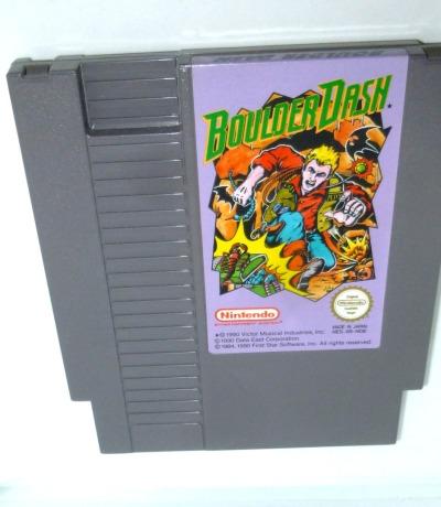 Nintendo NES Boulder Dash Pal-B Nintendo