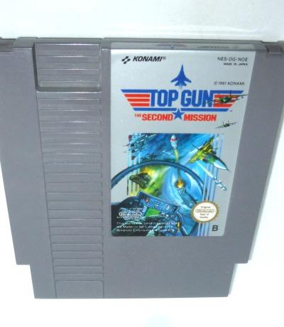 Nintendo NES Top Gun Pal-B Nintendo