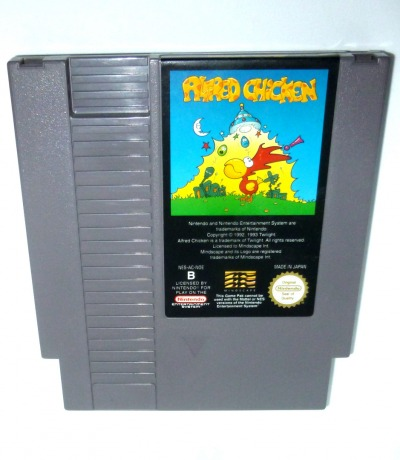 Nintendo NES Alfred Chicken Pal-B Nintendo