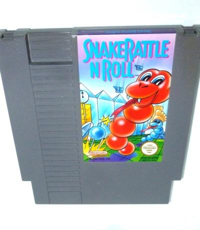 Nintendo NES Snake Rattle Roll Pal-B