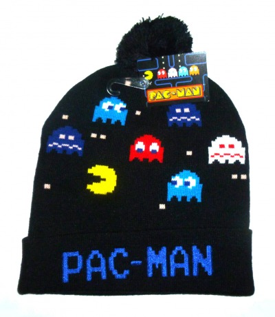 Pac Man Wintermütze mit Bommel Bandai
