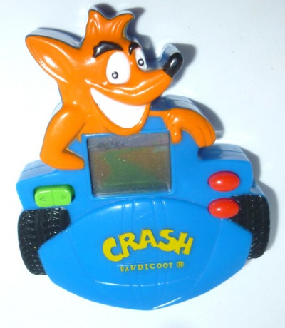Crash Bandicoot Telespiel MC Donalds McD