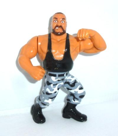 WWF Luke Actionfigur Hasbro Series Bushwhackers