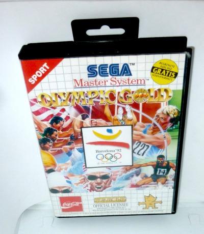 Sega Master System Olympic Gold The