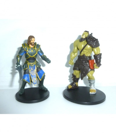 2 Mini Figuren - Warcraft