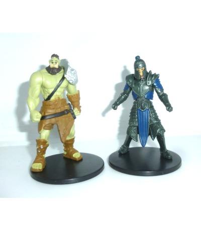 2 Mini Figuren - Warcraft
