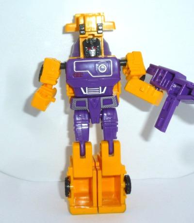 Driving Heroes Agitator Verwandlungs-Roboter Betonmischfahrzeug G1