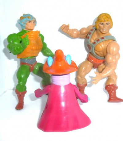 Man-At-Arms He-Man Orko Masters of the