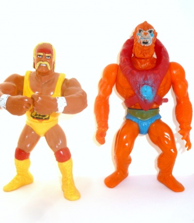 Hulk Hogan vs Beast Man WWF