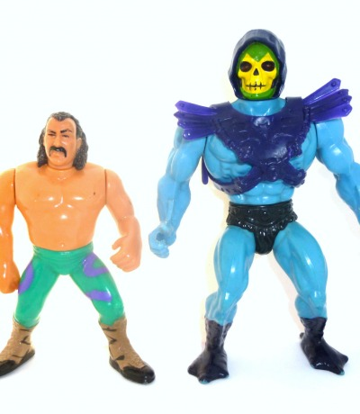 Jake The Snake Roberts vs Skeletor