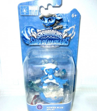 Power Blue Splat OVP MOC Skylanders