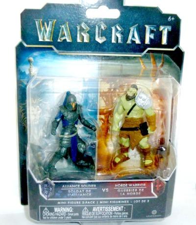 Alliance Soldier vs Horde Warrior Warcraft
