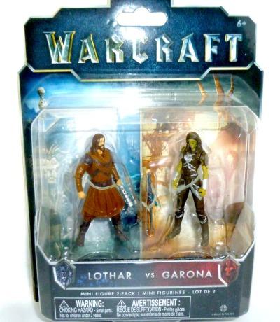 Lothar vs Garona - Warcraft
