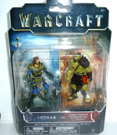 Lothar vs Horde Warrior - Warcraft