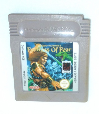 Fortress of Fear Nintendo Game Boy
