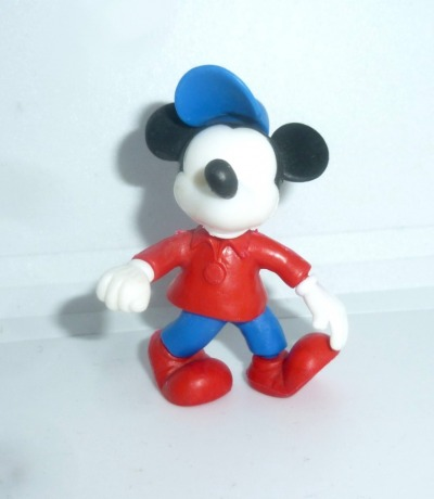 Mickey Mouse figure without eyes