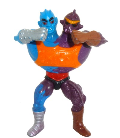 Two Bad Masters of the Universe