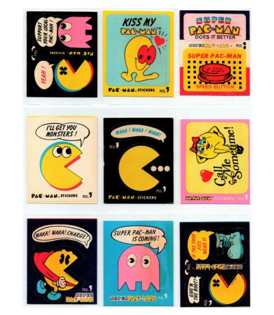 Pac-Man Ms Pac- Man Sticker Arcade