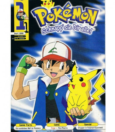 September Nr1 Club Nintendo Special Pokemon