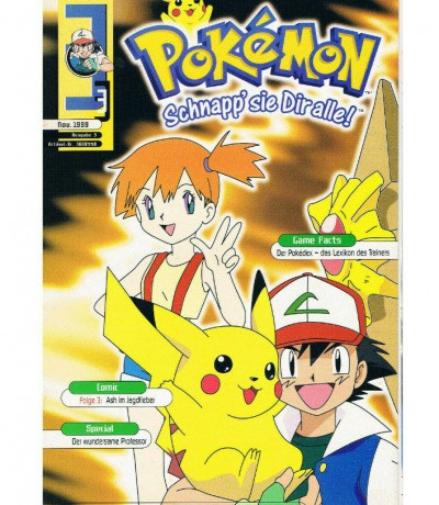 September Nr3 Club Nintendo Special Pokemon