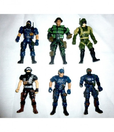 Police Force Actionfiguren - Chap Mei