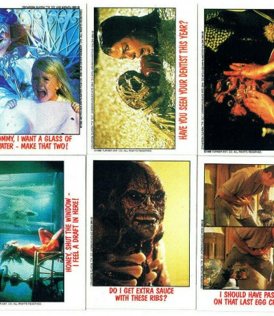 Poltergeist - 6x Trading Cards /