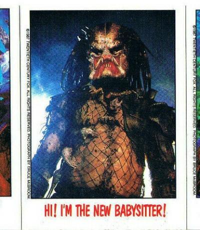 Predator - 3x Trading Cards /