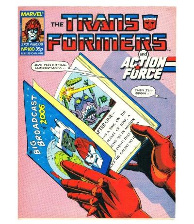 The Transformers - Comic Nr/No 180