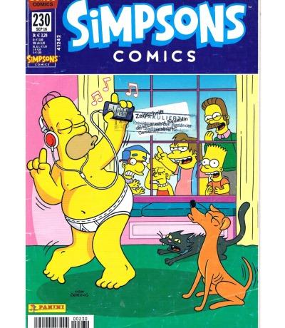 Simpsons Comics Heft Ausgabe Seb 2016