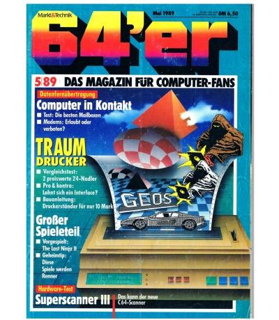 64er Magazine / booklet - issue