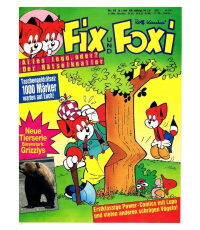 Fix und Foxi Comic Nr18 42Jahrgang