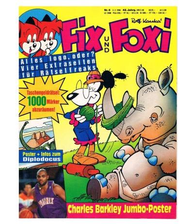 Fix und Foxi Comic Nr6 42Jahrgang