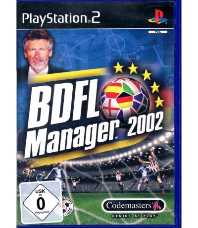 BDFL Manager 2002 - PlayStation 2