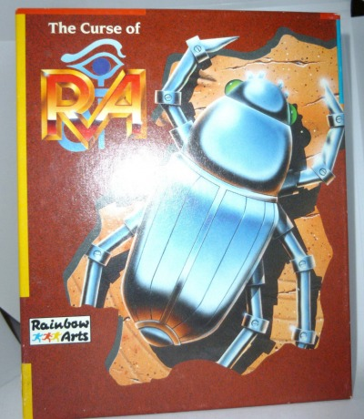 The Curse of Ra - Kassette - C64 / Commodore 64