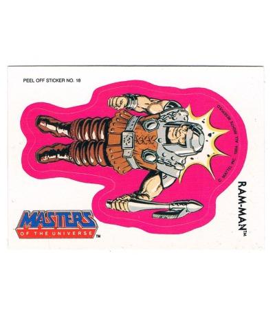 Ram Man Sticker von Topps Masters