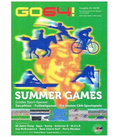 Ausgabe 04-06/08 Retro 8 GO64 Das