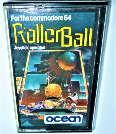 Roller Ball - Kassette - C64 / Commodore 64