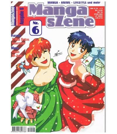Manga sZene Magazin Nr6 Anime Manga