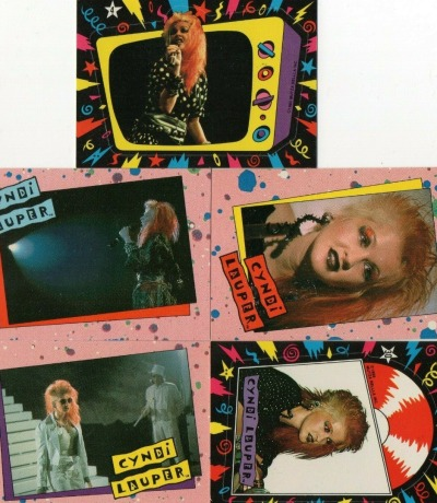 Cyndi Lauper - 5 Trading Cards