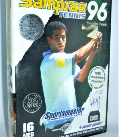 Sampras Tennis 96 - Codemasters - Sega Mega Drive