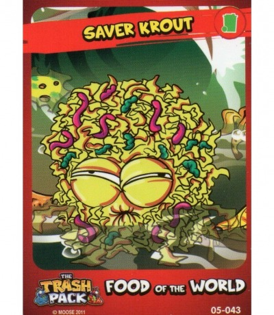 Saver Krout Food of the World