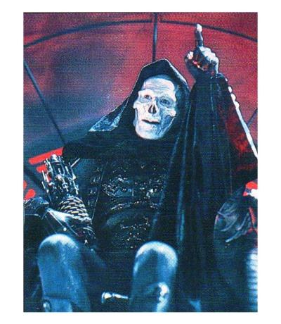 Skeletor Panini Sticker Nr Masters of