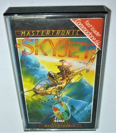 Skyjet - Kassette - C64 / Commodore 64